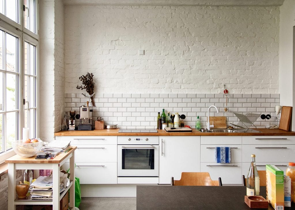 NYC apartment kitchen