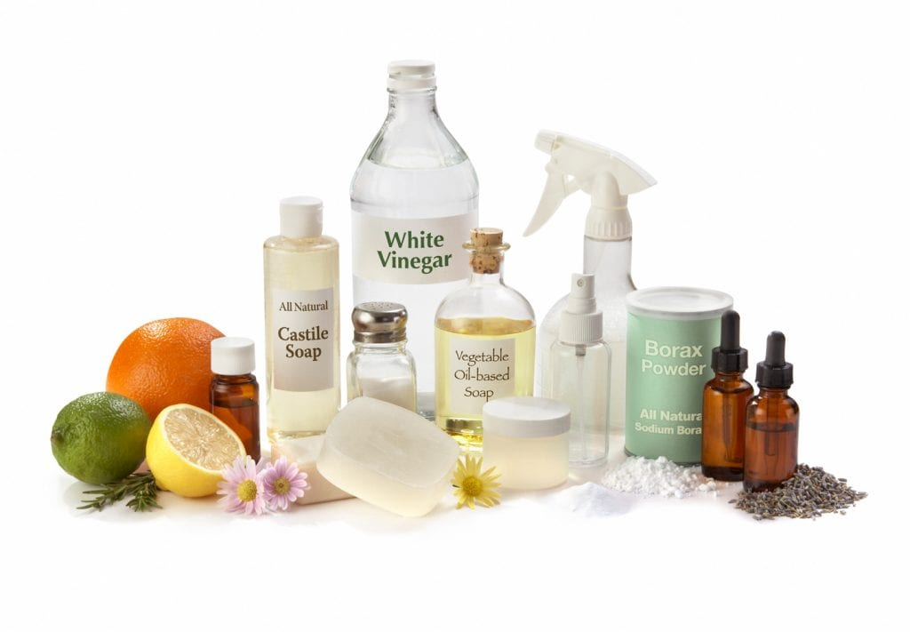 DIY non-toxic cleaners