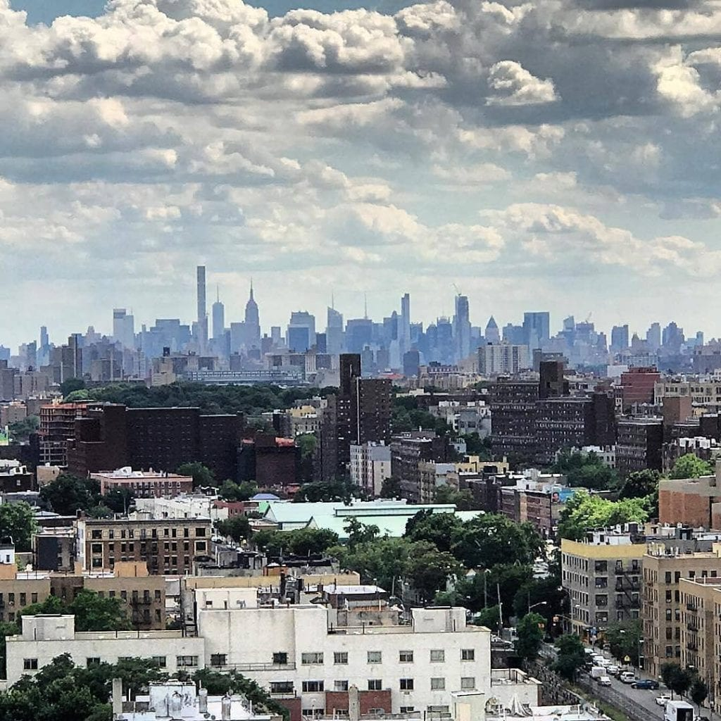 view from The Bronx