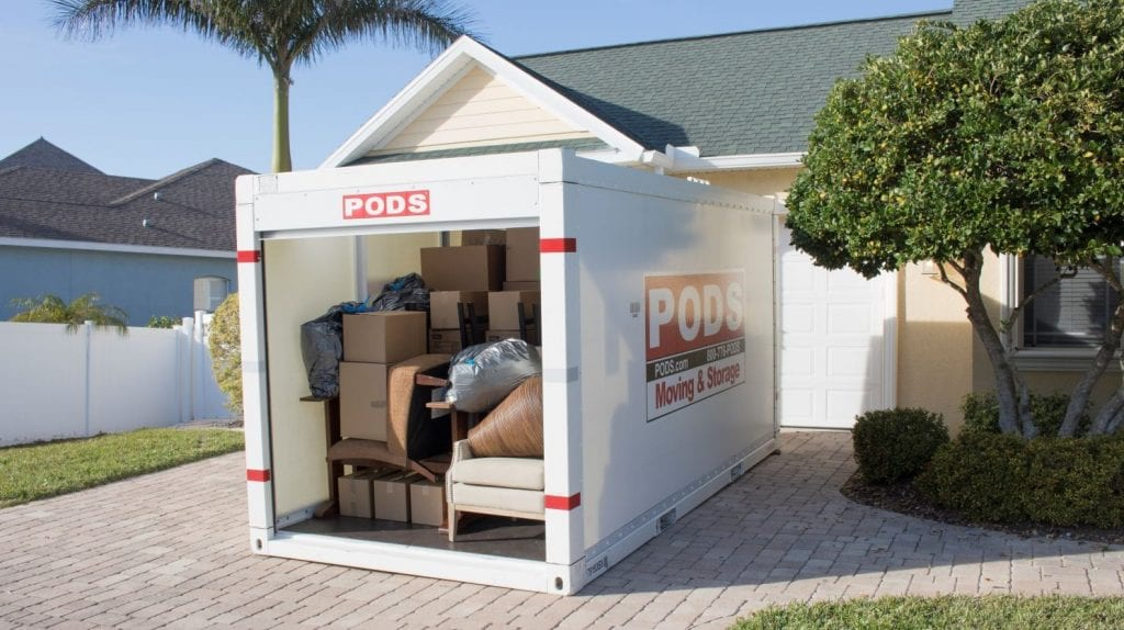Moving PODS container for self moves