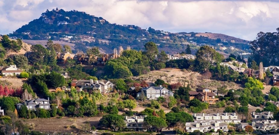 Mill Valley in San Francisco North Bay