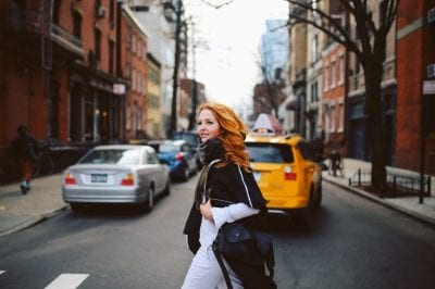 woman living in New York City