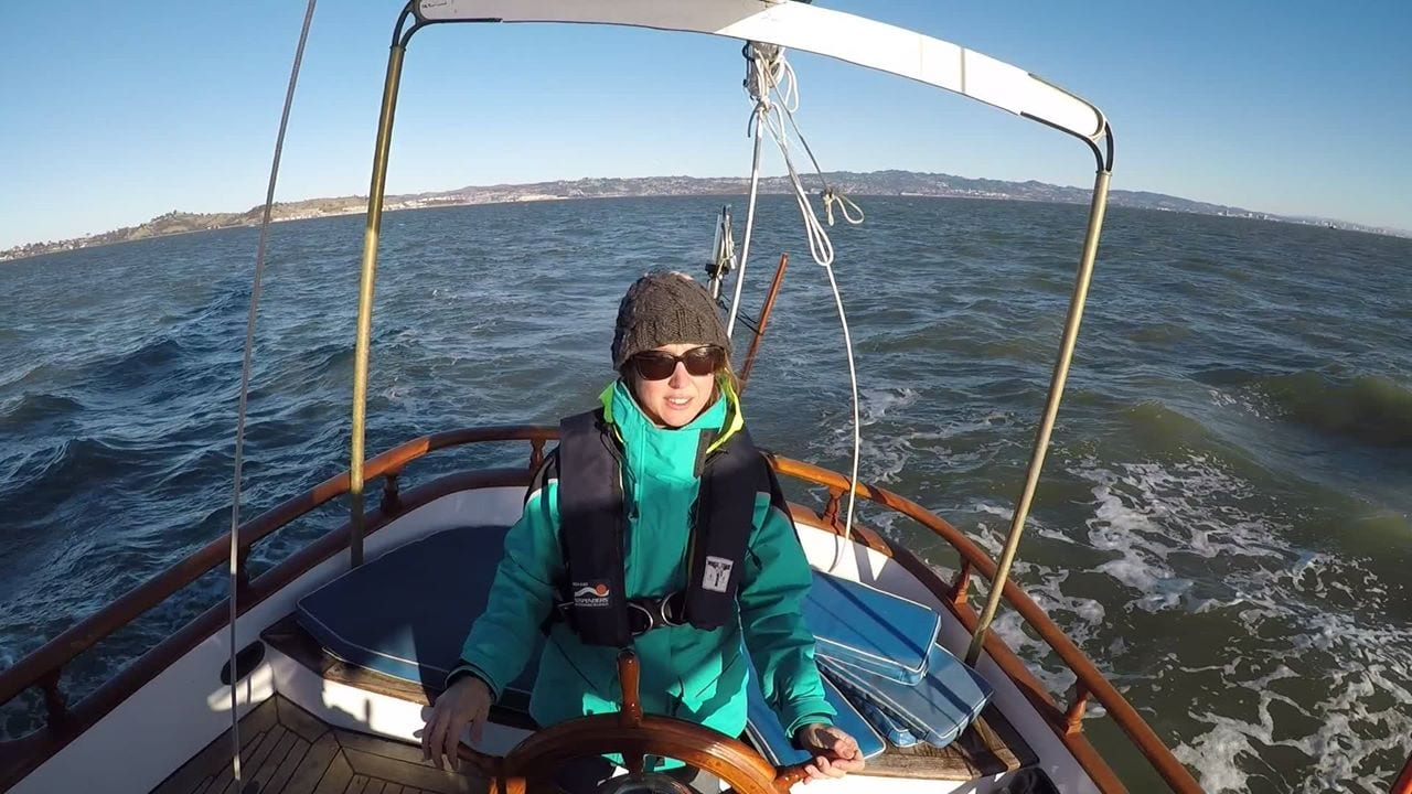 Woman downsized home to live on a sailboat
