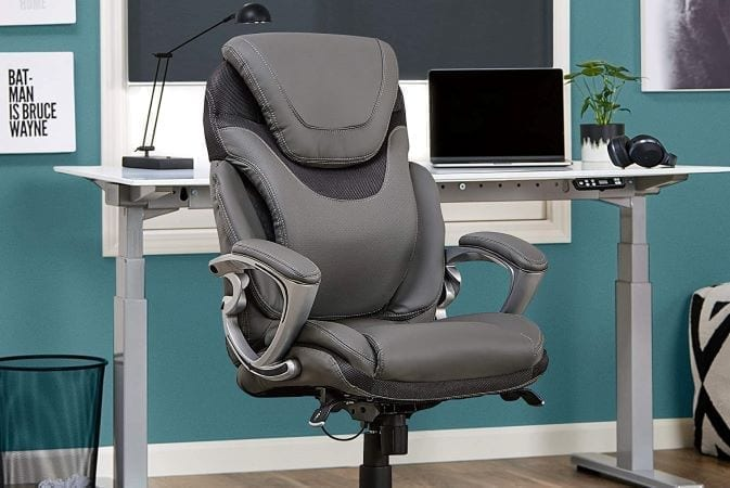 Serta AIR Executive Office Chair makes a great addition to a home office