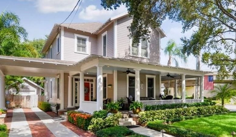 Historic home in Hyde Park, Tampa