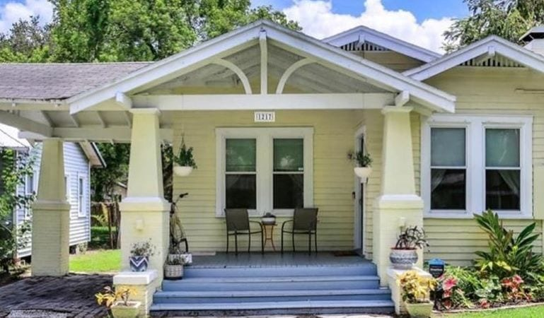 Bungalow home in Seminole Heights, FL