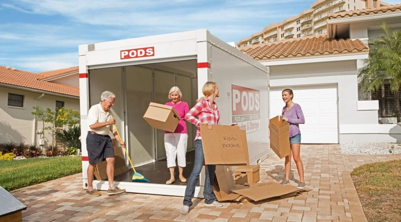 Family packing PODS container