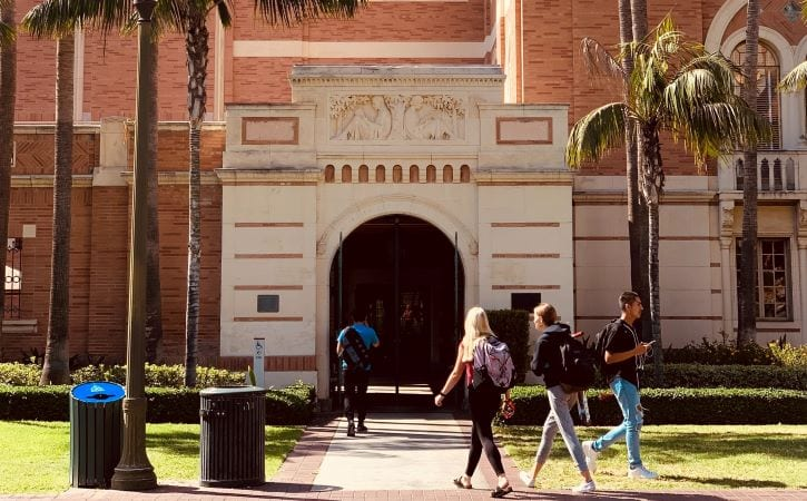 University of Southern California in Los Angeles (UCLA)