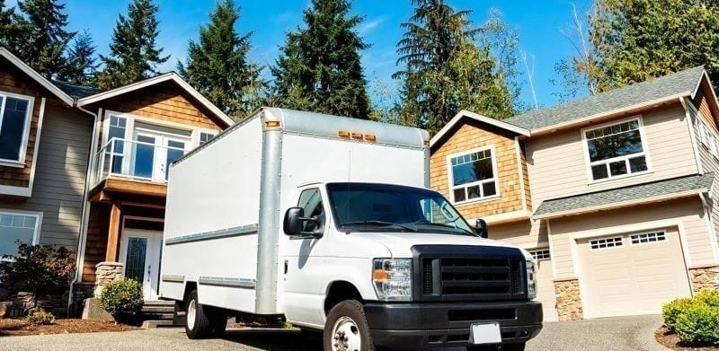 moving truck sizes include the box truck which is good for larger moves