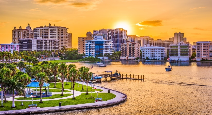 Sarasota, Florida is one of the best places to live in Florida.